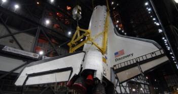 STS-119 wewnątrz VAB