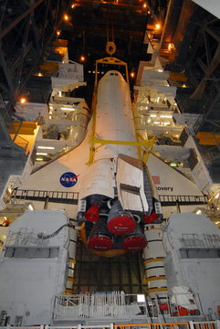 STS-119 w VAB