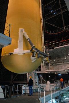 ET-130 wewnątrz VAB