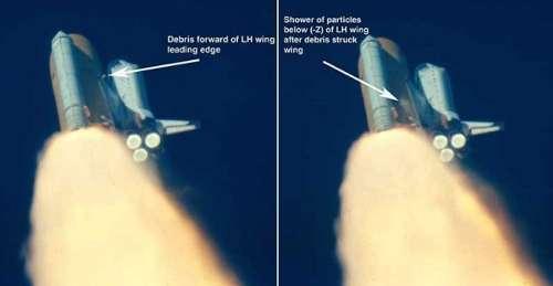 Start STS-107 /  Credits - NASA