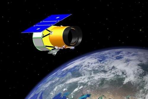 Artystyczna wizja sondy WISE na orbicie / Credits - NASA
