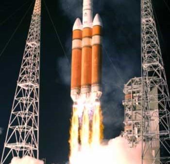 Start rakiety Delta IV Heavy, Credits: United Space Alliance