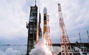 Start rakiety H-IIA / Ibuki, Credits: Mitsubishi Heavy Industries, JAXA