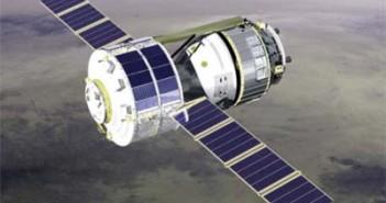 Pojazd załogowy JAXA na orbicie (JAXA)