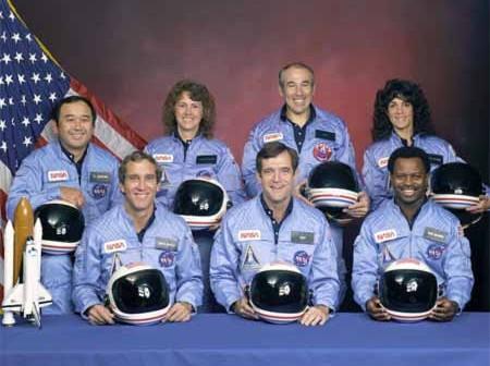 Załoga misji STS-51L, Credits: NASA