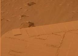 Stan paneli na sol 1696, Credits: NASA