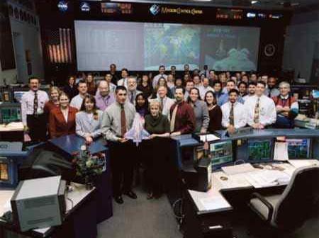 Orbit 2 Team, Credits: NASA