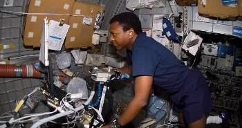 Michael P. Anderson, 24.01.2003 /Credits - NASA