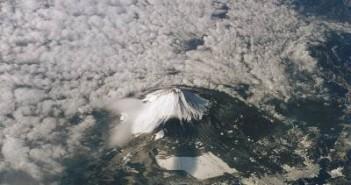 Góra Fudżi / Credits - NASA