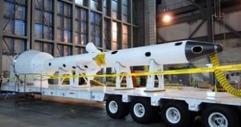 Makieta rakiety ratowniczej