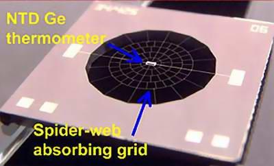 Bolometr stosowany w instrumencie SPIRE (Cred. NASA/ESA)