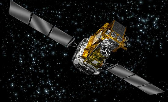 Satelita Integral / Credits: ESA
