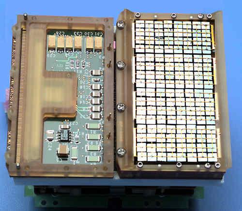Detektor SSD instrumentu BAT (NASA)