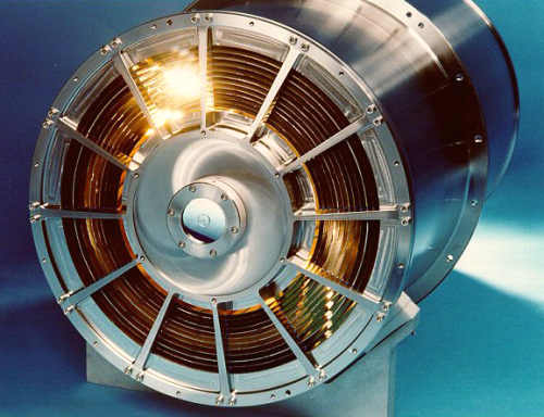 System zwierciadeł instrumentu XRT (NASA/OAB)