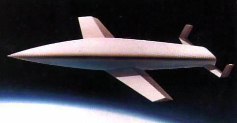 Wizja bombowca antypodalnego, Credits: Encyclopedia Astronautica / MBB