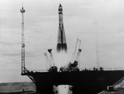 Start Sputnika 1, Credits: Novosti / AP