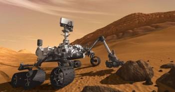 MSL Curiosity na powierzchni czerwonej planety / Credits: JPL, NASA