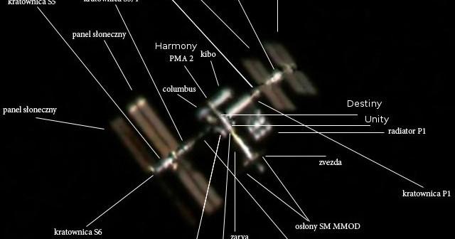 Międzynarodowa Stacja Kosmiczna - co widać przez teleskop / Credits - Janusz Krysiak (Janus)