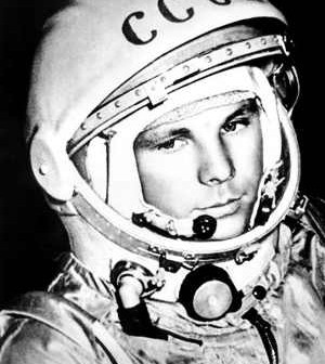 Jurij Gagarin - pierwszy człowiek w kosmosie / Credits - www.rirt.ru