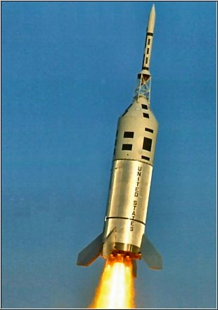 Test systemu ratunkowego dla kapsuły Apollo - maj 1964 / Credits -  NASA