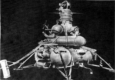 Próbnik Łuna  16. Łuna 15 wyglądała najprawdopodobniej tak samo / Credits - NASA