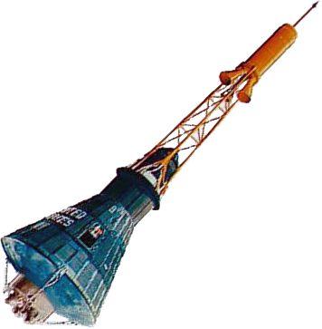 Pierwsza amerykańska kapsuła załogowa Mercury / Credits - NASA