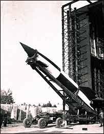 Niemiecka rakieta V2 z czasów II wojny światowej / Credits - Science Museum London