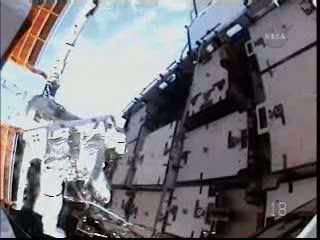 Dzisiejsze stanowisko pracy / Credits - NASA TV
