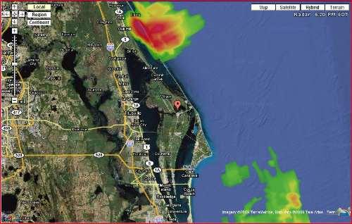 Pogoda na Florydzie / Credits - Google