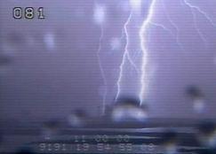 Uderzenia piorunów w platformę LC-39A / Credits - NASA, nasaspaceflight.com