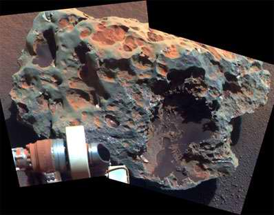 Meteoryt Block Island. Cred NASA/JPL-Caltech/Cornell University