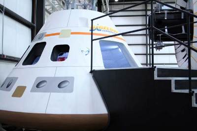 Makieta kapsuły Orion w wersji 'light' / Credits - Bigelow Aerospace