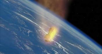 Pojazd HTV spala się w atmosferze, credits: JAXA (P-019-01156)