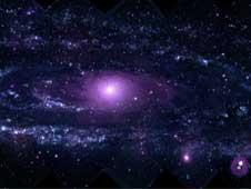 Obraz galaktyki M31 uzyskany za pomocą instrumentu UVOT. Cred NASA/Swift/Stefan Immler (GSFC)/Erin Grand (UMCP)