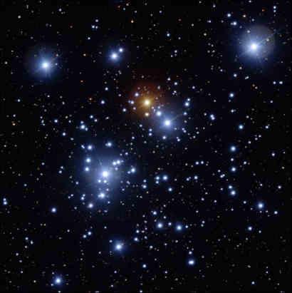 Obraz NGC 4755 uzyskany za pośrednictwem VLT, credits: ESO