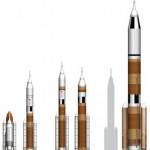Porównanie alternatyw dla obecnie obowiązującej architektury rakietowej NASA / Credits - NASA, SHINIKO R. FLOYD, ORLANDO SENTINEL