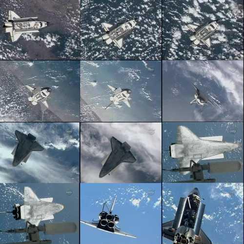 Manerw RPM misji STS-129 / Credits - NASA TV