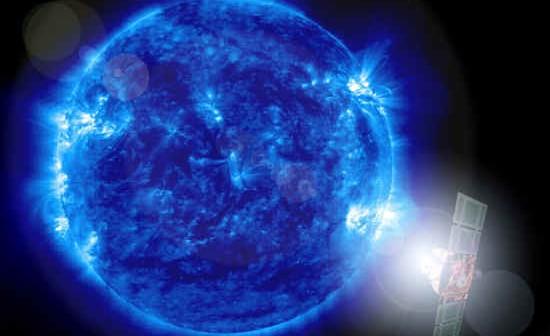 Satelita SOHO obserwuje Słońce (NASA)