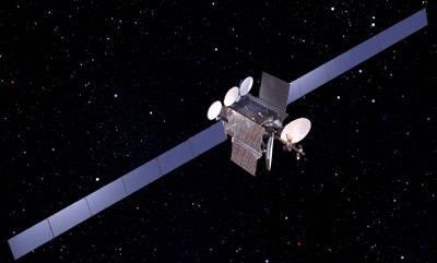 Wizualizacja satelity DirecTV (Credits:  Boeing)