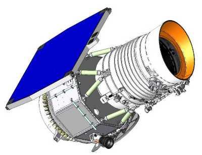 Wizualizacja satelity WISE (NASA)