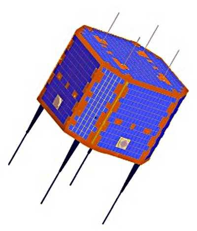 Wizualizacja XW-1 (CNSA)