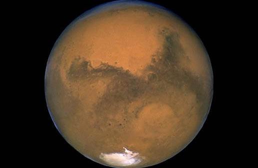 Planeta Mars okiem teleskopu Hubble'a - NASA/J. Bell (Cornell U.) and M. Wolff (SSI)