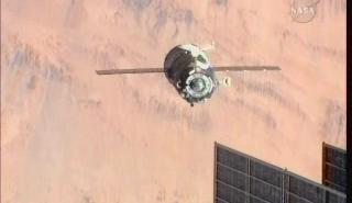 Redakcji kosmonauty.net do lotu Sojuzem namawiać nie trzeba! / Credits: NASA TV