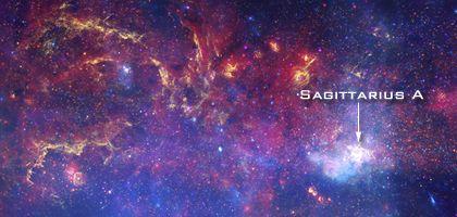 Pierwszy tak dokładny obraz serca naszej Galaktyki Credits: X-ray: NASA/CXC/UMass/D. Wang et al.; Optical: NASA/ESA/STScI/D.Wang et al.; IR: NASA/JPL-Caltech/SSC/S.Stolovy