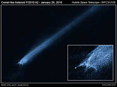 P/2010 A2 / Credits: NASA, ESA, and D. Jewitt (UCLA)