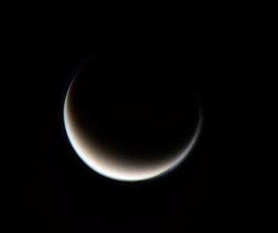 Zdjęcie Tytana złożone przez użytkownika forum astro4u.net - Limax7 / Credits: Limax7 / NASA/ESA