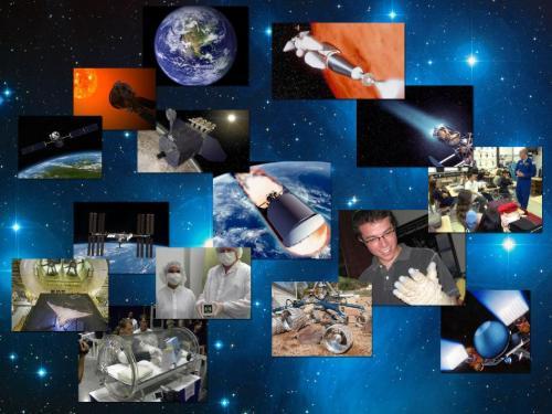 """Jedna z grafik obrazująca mnogość różnych badań w """"nowej erze"""" NASA / Credits - NASA"""