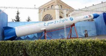 Atrapa rakiety nośnej Simorgh, credits: IRNA