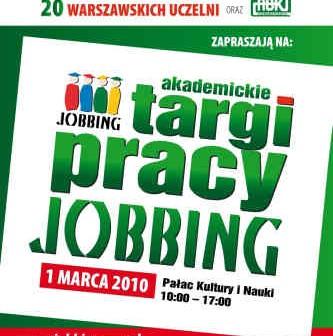 IV Akademickie Targi Pracy Jobbing, credits: jobbing.org.pl