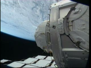 10:46 CET - Node 3 na ISS / Credits - NASA TV